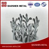 중국 공급자에게서 직접 주문을 받아서 만들어지는 절묘하게 제작된 스테인리스 금속 접시 훈장