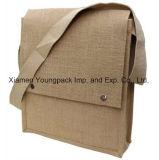 Sacos feitos sob encomenda amigáveis da conferência da juta de Eco do saco relativo à promoção do estilingue de Hession