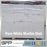 屋内および屋外の装飾のための中国の純粋で白い大理石の平板