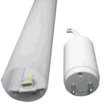Éclairage amovible du tube DEL du gestionnaire 60cm 9W T8 de couverture de PC de boîtier aluminium