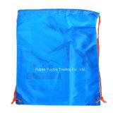 sac à dos en nylon de sac de cordon 210d avec l'impression faite sur commande