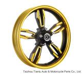 Peças da motocicleta, bordas da roda da liga com F/R 3.0-17/4.0-17
