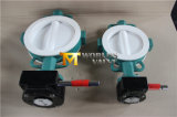 Тип клапан-бабочка вафли PTFE Coated с ISO одобренным Wras Ce (CBF04-TA01)