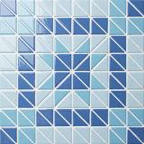 Mattonelle di mosaico di ceramica lustrate a forma di triangolo della piscina di alta qualità