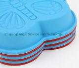 Оптовый малый лоток торта Sc59 булочки силикона бабочки размера