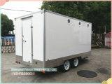Remorque de café de remorque de chariot de nourriture de panneau Re-Enforced par glace de Ys-Fb390c
