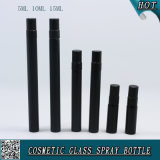 frasco de cristal coloreado negro mate del cristal de botellas del aerosol de la botella de perfume de 5ml 10ml 15ml