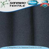 Tessuto di lavoro a maglia del denim della nervatura del cotone 100 per gli indumenti