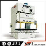 tira de metal 250ton que processa para trás a máquina aluída dobro aberta da imprensa de potência