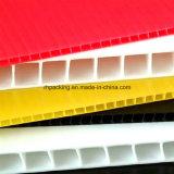 2-10mm buntes pp. gewölbtes Zeichen-Bildschirm-Drucken der Blatt-/Corflute/Correx/Coroplast