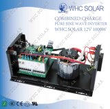 Whc outre d'inverseur solaire pur d'onde sinusoïdale à C.A. 1000W de C.C 220V du réseau 12V