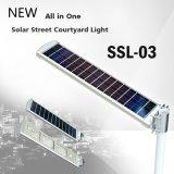 surtidor al aire libre solar integrado de China de la lámpara del camino de la aldea de la iluminación de la luz de calle de 30W LED