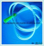 Extrémité distale fermée givrée de cathéter d'estomac de PVC de pente médicale de nouveau produit avec quatre yeux transversaux