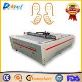 Máquina de oscilação do CNC da estaca da faca da tela do couro do cartão do cortador do plotador de Dekcel
