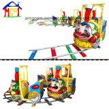 Комплект спортивной площадки электрической игрушки занятности поезда слона крытый