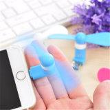 高品質ビジネスギフトiPhoneのための小型ファンを運ぶこと容易な携帯用USBの小型ファン