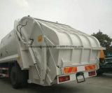 Shacman 10t 졸작 컴퓨레스는 & 압축한 쓰레기 트럭 10 톤 수송한다