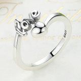 Nieuwe Aankomst 100% 925 Echt Zilver I houdt van u de Juwelen van de Ring van het Hart