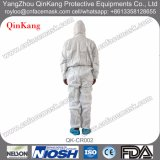 Facotry Cleanroom / Lab SMS PE Coated Waterproof Overall / Coverall