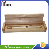 Boîte à stylo en bambou avec / sans stylo