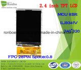 """2.4 """" module de TFT LCD de 240*320 MCU, Ili9341V, 28pin pour la position, sonnette, médicale"""