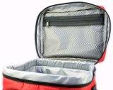 """Os grandes fechamentos de nylon Dobro-Sewn saco isolados do Zipper do almoço com os grandes bolsos laterais carreg a cinta do punho e de """" ombro 48"""