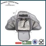 La course dégrossie douce de luxe de crabot d'animal familier de polyester portent le sac Sh-17070208