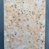Pierre artificielle de quartz de couleur blanche, partie supérieure du comptoir blanche en cristal de quartz