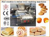 機械を作るKh 600のスイスロールのケーキ