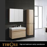 キャビネットおよびミラーTivo-0008vhを剃ることの木製の小さい浴室の虚栄心
