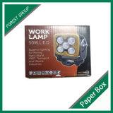 Vente en gros de empaquetage de cadre d'éclairage LED ondulé fait sur commande de taille