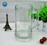 vidro da classe 600ml elevada, copo do vidro de cerveja com punho