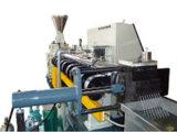기계를 작은 알모양으로 하는 PP/PE 조각을%s 단일 나사 압출기