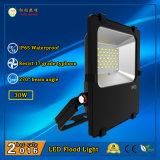 승인되는 3 세륨에 RoHS 옥외 30W IP65 LED 투광램프 전구