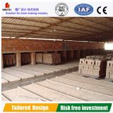 Dessiccateur de brique d'argile pour la chaîne de production de brique
