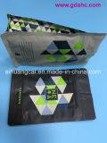 Seitliche Heißsiegel-Unterseiten-flacher mit Reißverschluss Aluminiumplastiknahrungsmittelbeutel