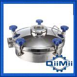 Couverture de trou d'homme ronde de l'acier inoxydable Ss304/Ss316L de pression régulière sanitaire
