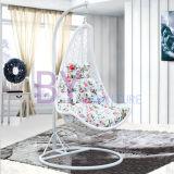 Стул качания ротанга самомоднейшей напольной мебели гостиницы алюминиевый