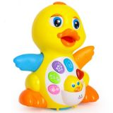 Kids Plastic Educational EQ Swing Big Yellow Duck Baby Toy