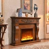 ヨーロッパ式のホテルの家具MDFの電気暖炉(324B)