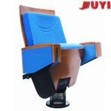 Piezas de madera de la silla del auditorio de Jy-906 3D con las sillas de la tablilla de la escritura para el cine del asiento de la iglesia usado