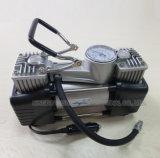 Compresseur d'air de voiture à double cylindre lourd avec corps en métal