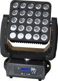 25*15W RGBW 4in1 Mehrfarben-/weißer Matrix-Blinder-bewegliches Hauptlicht LED-Eastsun