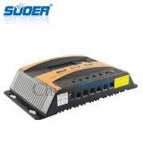 Регулятор регулятора 12V 24V 40A обязанности электрической системы панели солнечных батарей Suoer солнечный (ST-C1240)