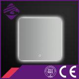 Jnh165 Touch Screen LED Backlit Chamfered Edge Espelho de banheiro econômico