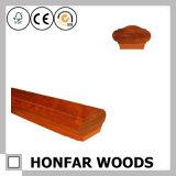 Recinzione di legno classica di qualità superiore del corrimano della scala della quercia rossa