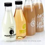 Leite do animal de estimação & frasco descartáveis desobstruídos do plástico do leite do feijão de soja