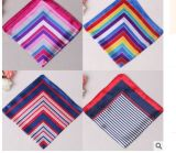 Горячим шарф способа сатинировки сбывания 50*50cm Silk напечатанный Cravat для подарка