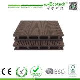 Eco-Friendly напольная составная доска водоустойчивое WPC Decking справляясь UV-Упорный составной деревянный Decking