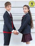 Modèles élevés d'uniformes scolaires de prix usine de qualité d'OEM